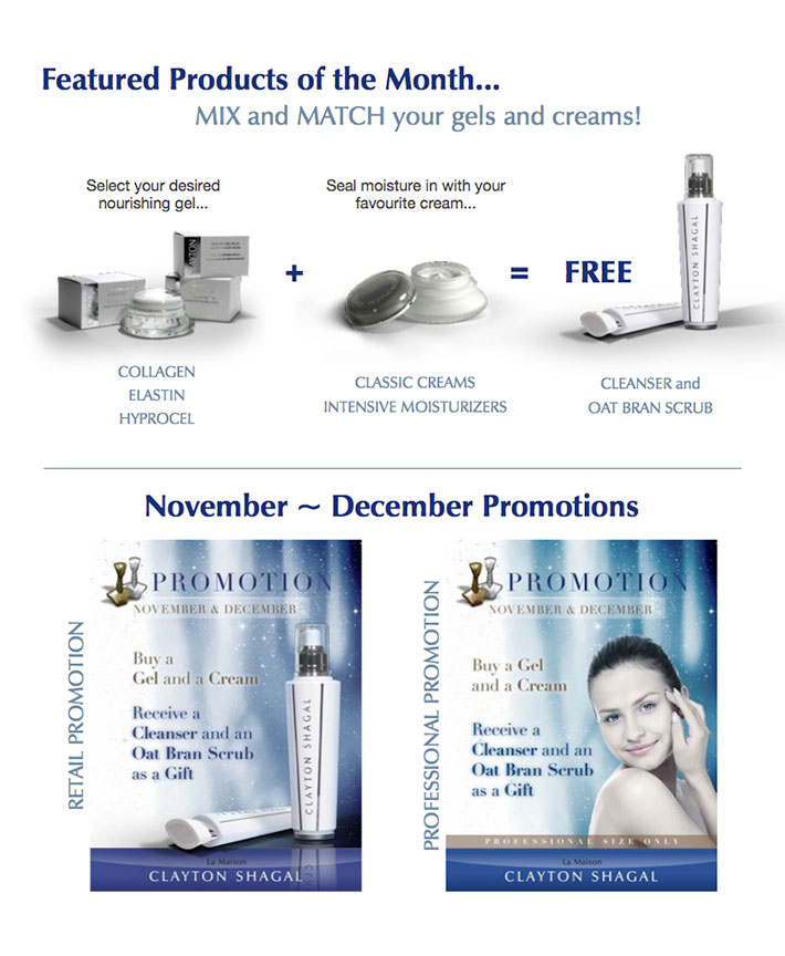 Clayton Shagall: Promotions November 2012